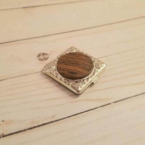 Bocote Pocket Mirror