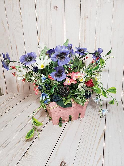 Flower and Fruit basket