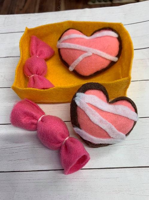 Felt Valentine Candy Assorment2