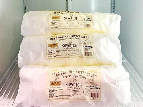 Sawatch European-Style Artisan Butter - Unsalted