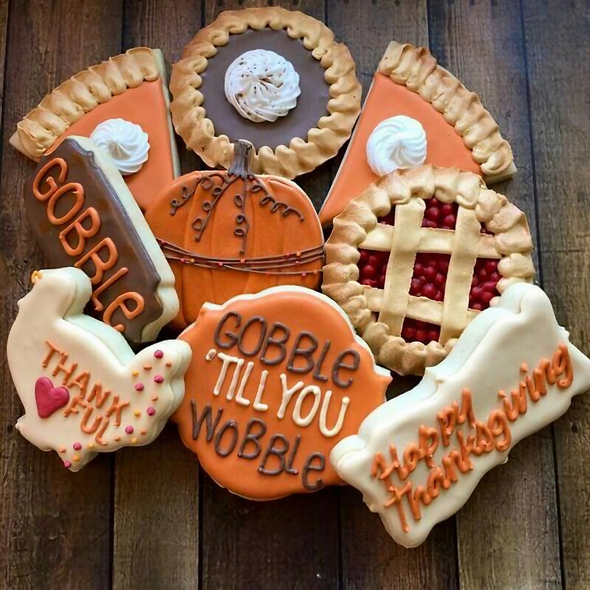 SOLD OUT - Thanksgiving Cookie Decorating