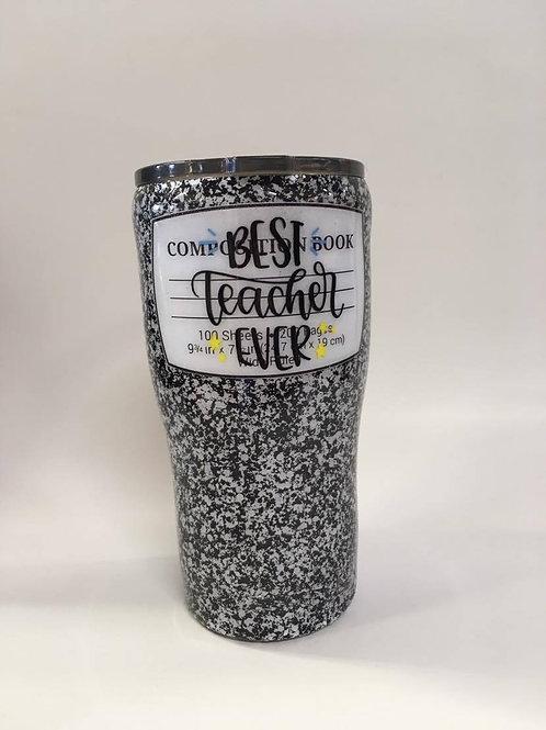 Best Teacher Ever- resin tumbler