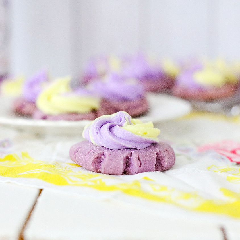 Lemon Lavender Cookie Baking Class