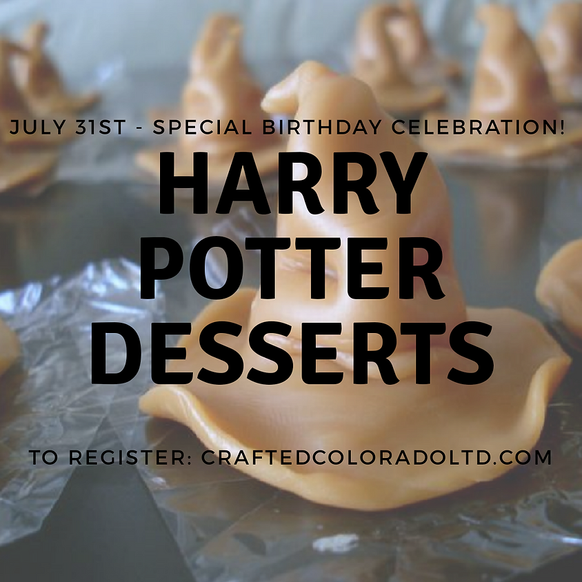 Harry Potter dessert class