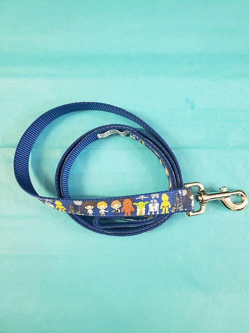 Dog Leash - Star Wars blue