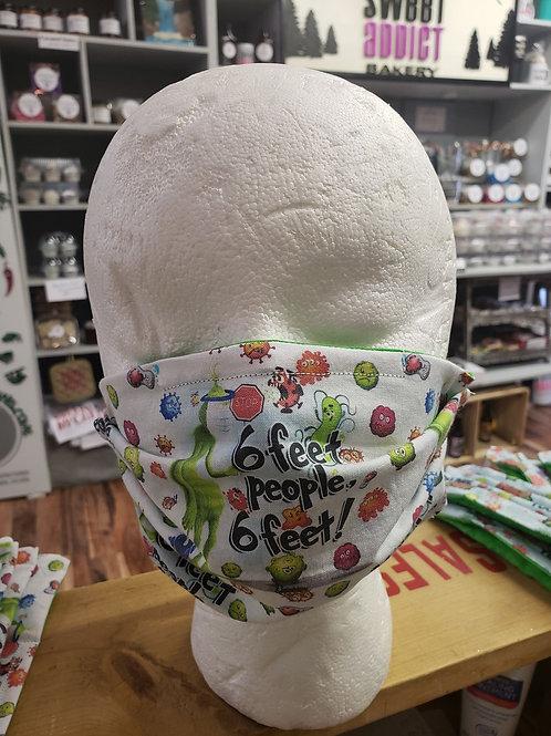 Adult mask - grinch
