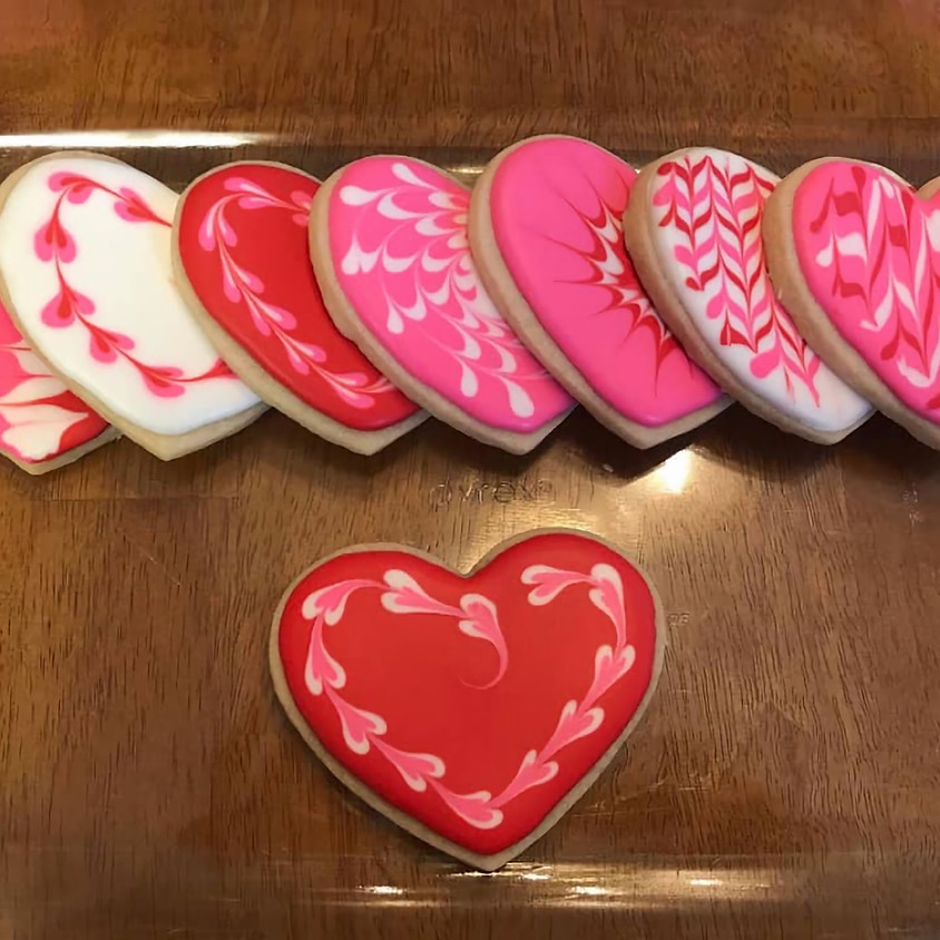 SOLD OUT - Valentine Cookie Royal Icing Fun