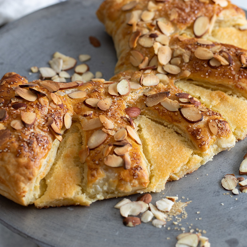 Almond Pastry Bear Claw Baking Class