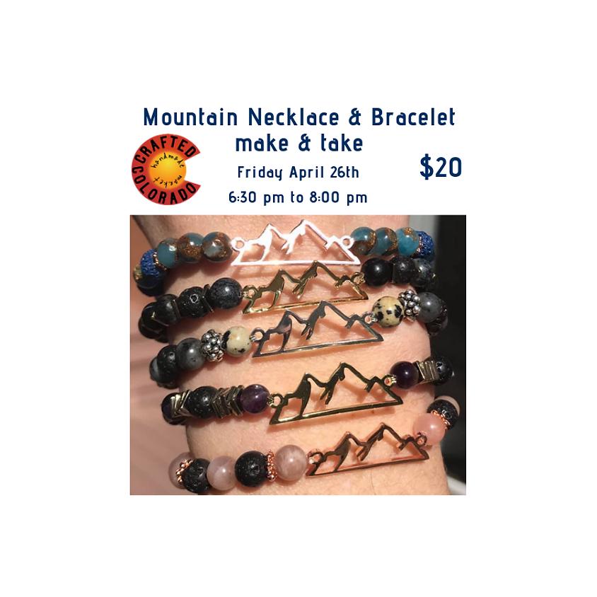 Mountain Jewelry make and take