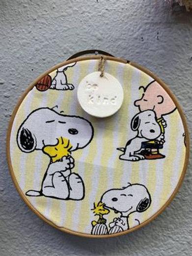 Be Kind Snoopy hoop wreath