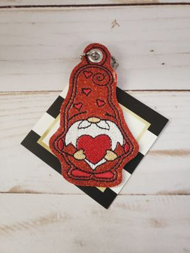 ZIPPER PULL -Gnome With Heart