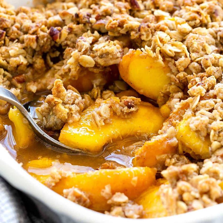 SOLD OUT - Peach Crisp Baking Class