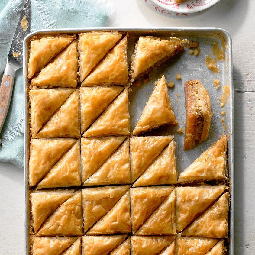 SOLD OUT - Sweet Baklava Baking Class