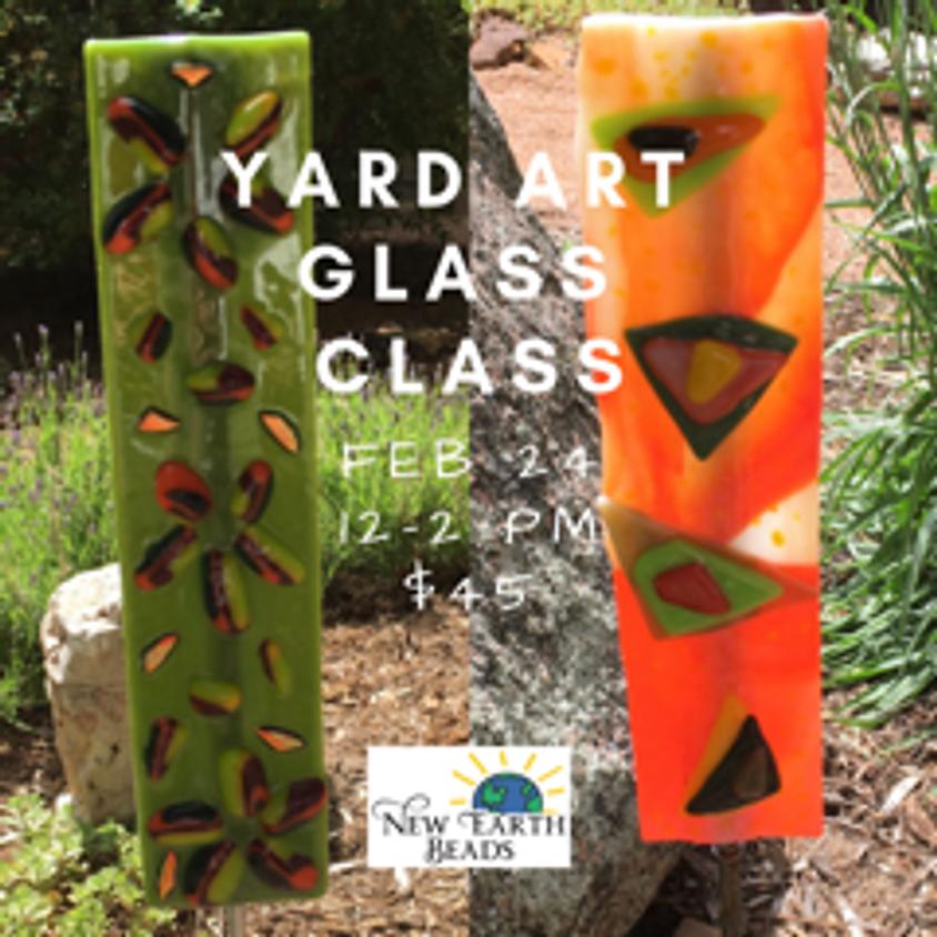 Fused Glass Yard Art Worskhop