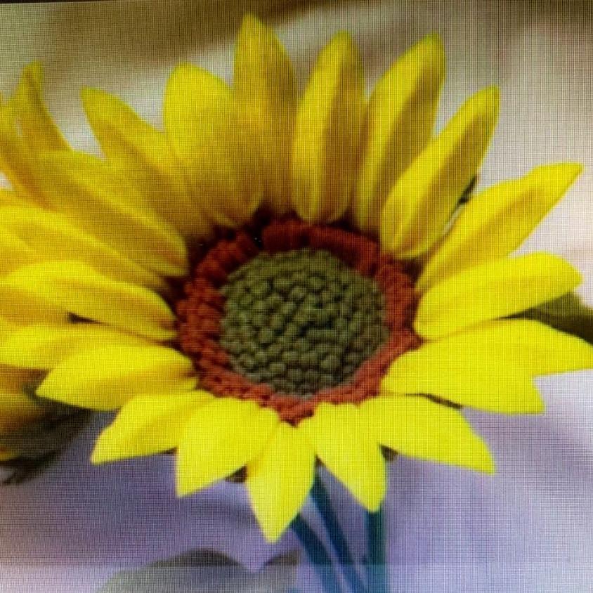 Make and Take Felt Sunflower Bouquet