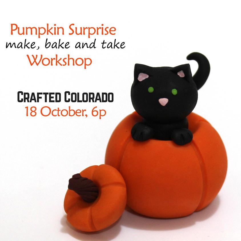 Pumpkin Surprise! - Make, Bake, & Take Workshop