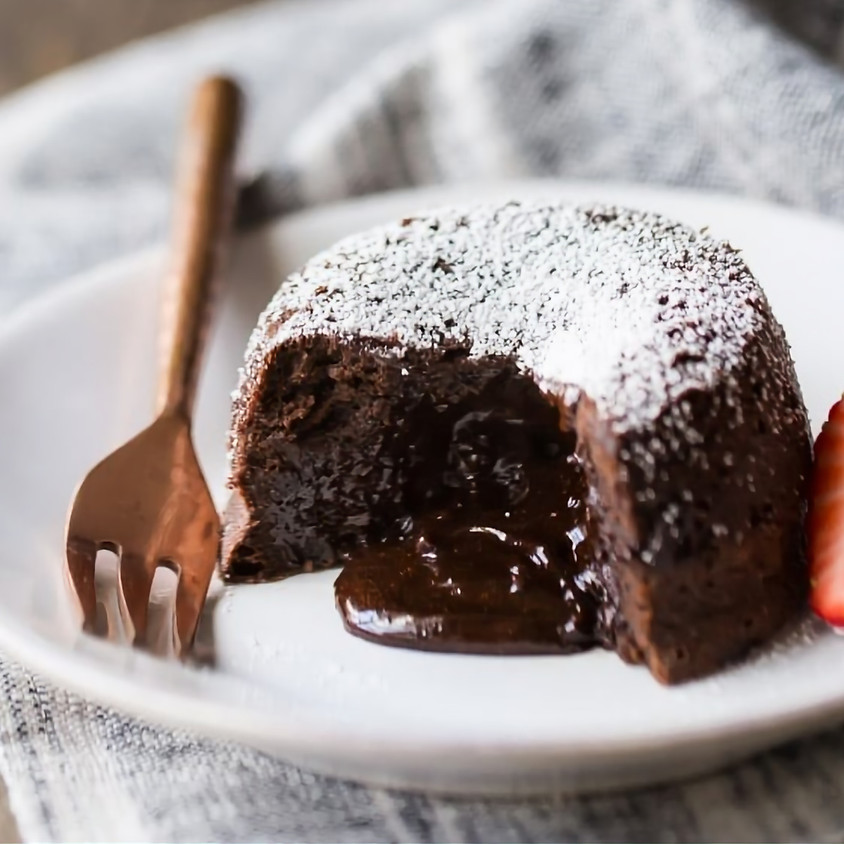 Lava Brownies