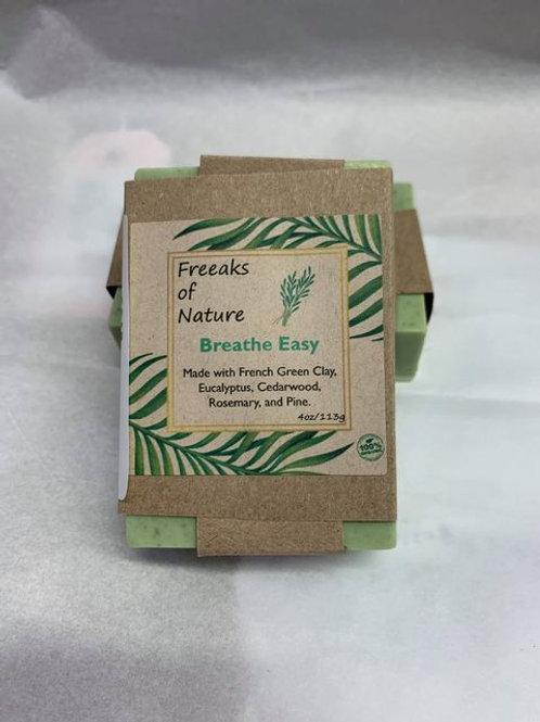 Breath Easy - French gray clay soap