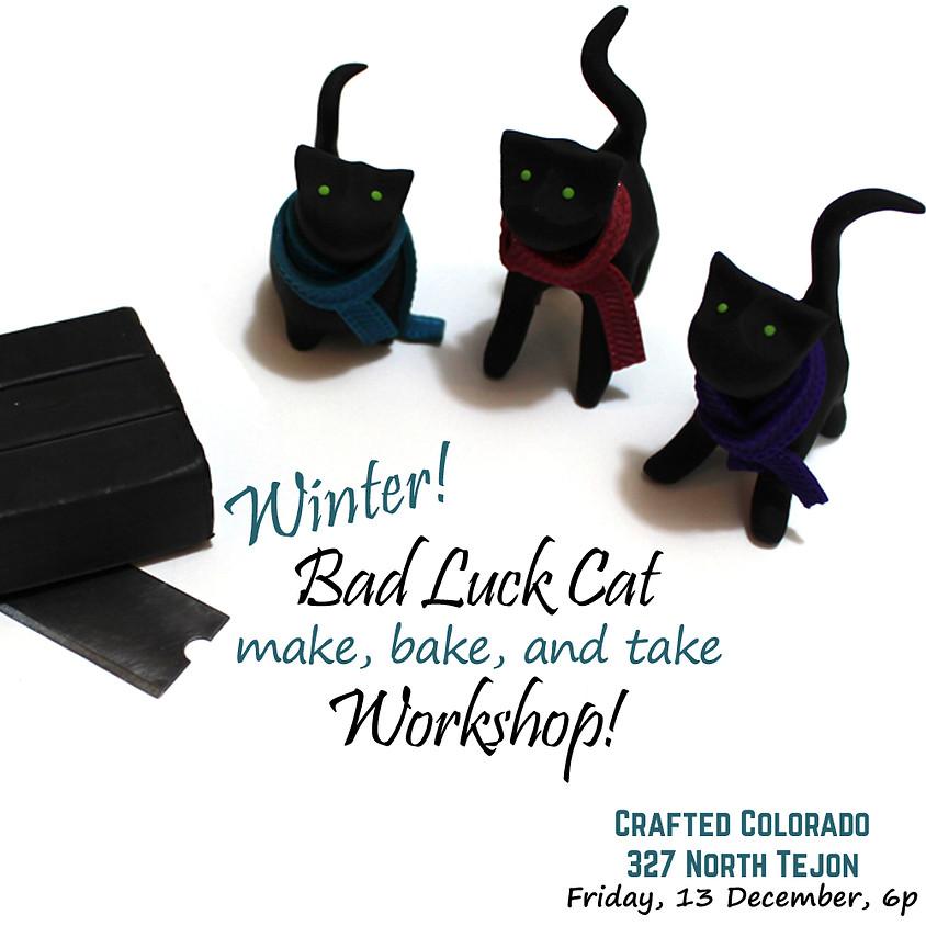 Winter! Bad Luck Cat Workshop