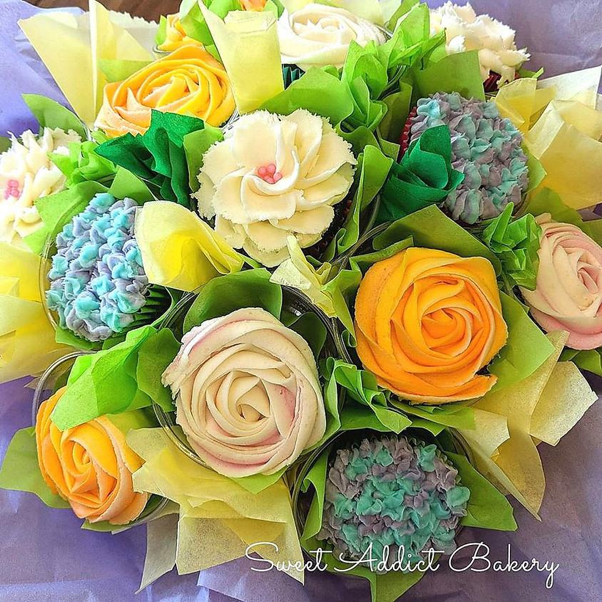 ONLINE Cupcake Bouquet Class