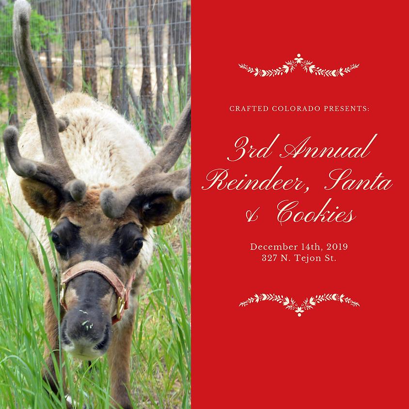 3rd Annual Reindeer, Santa & Cookies