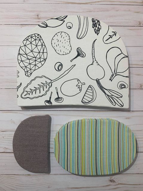 Unique Upcycled Kitchen Wall Art