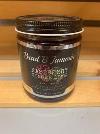 Small Batch Jam - Raspberry Ginger Lime