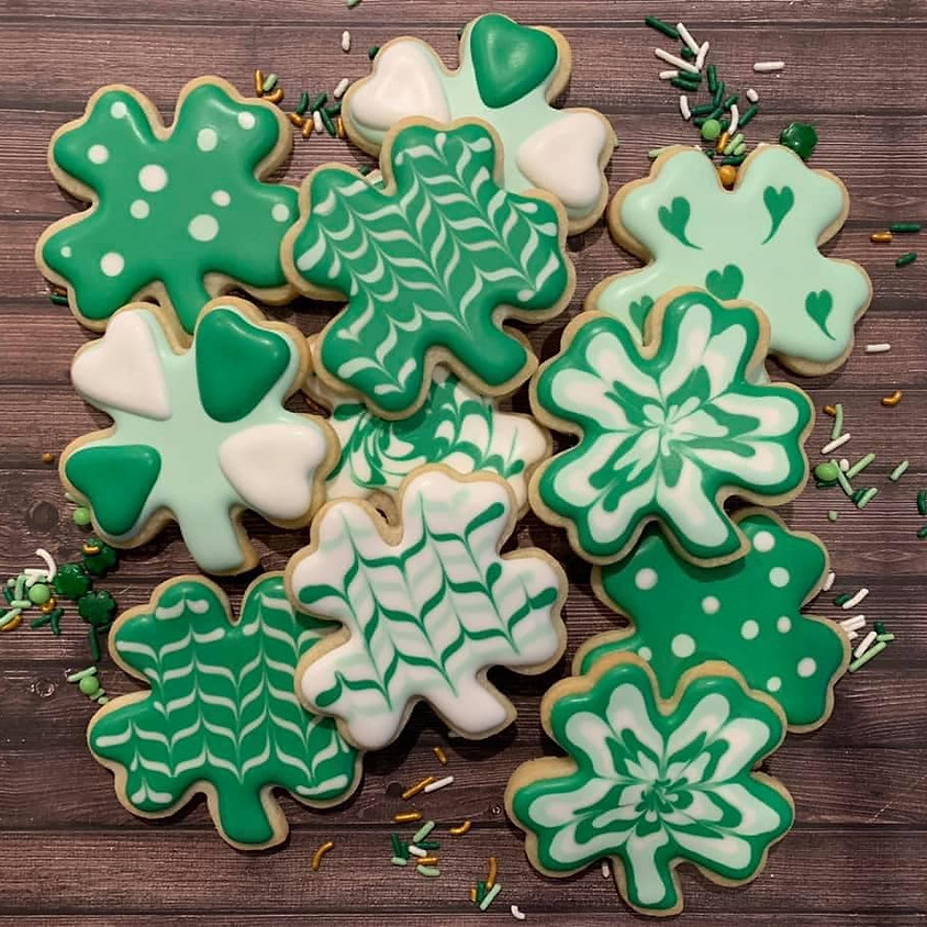 SOLD OUT - St. Patrick's Day Cookies