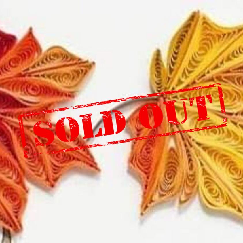 SOLD OUT - Fall Leaf Ornament Workshop