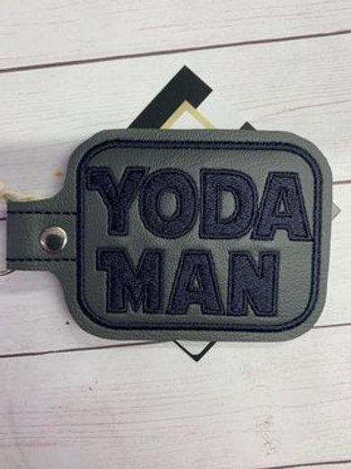 Yoda Man keychain