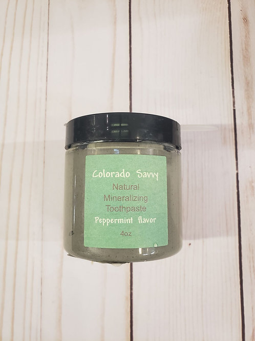 Natural Mineralizing Toothpaste