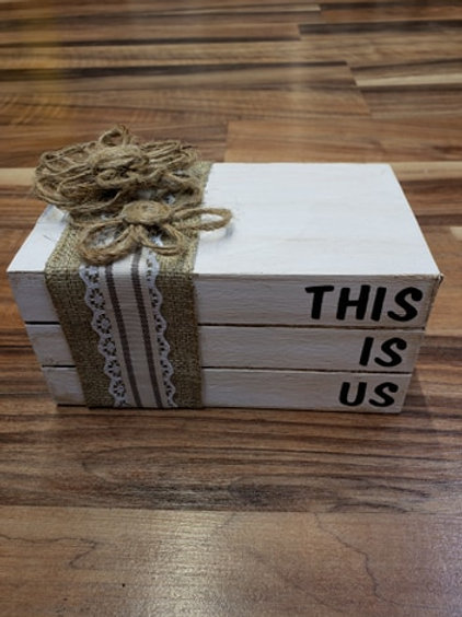 This Is Us book decor