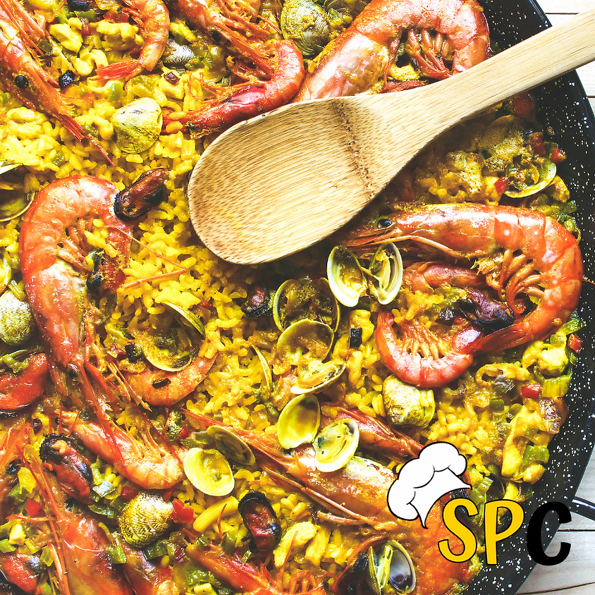 SOLD OUT-Seafood Paella Cooking Class