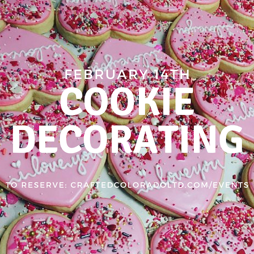 Valentine's Day Cookie Decorating - Preschool & tots welcome!