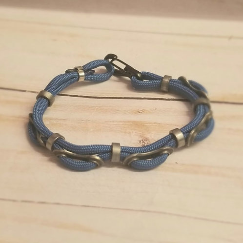 Single Chain Link Unisex Bracelet-single