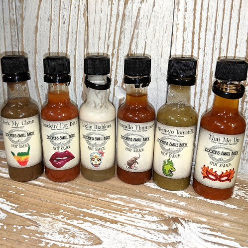Coopers Small Batch Hot Sauce Sampler