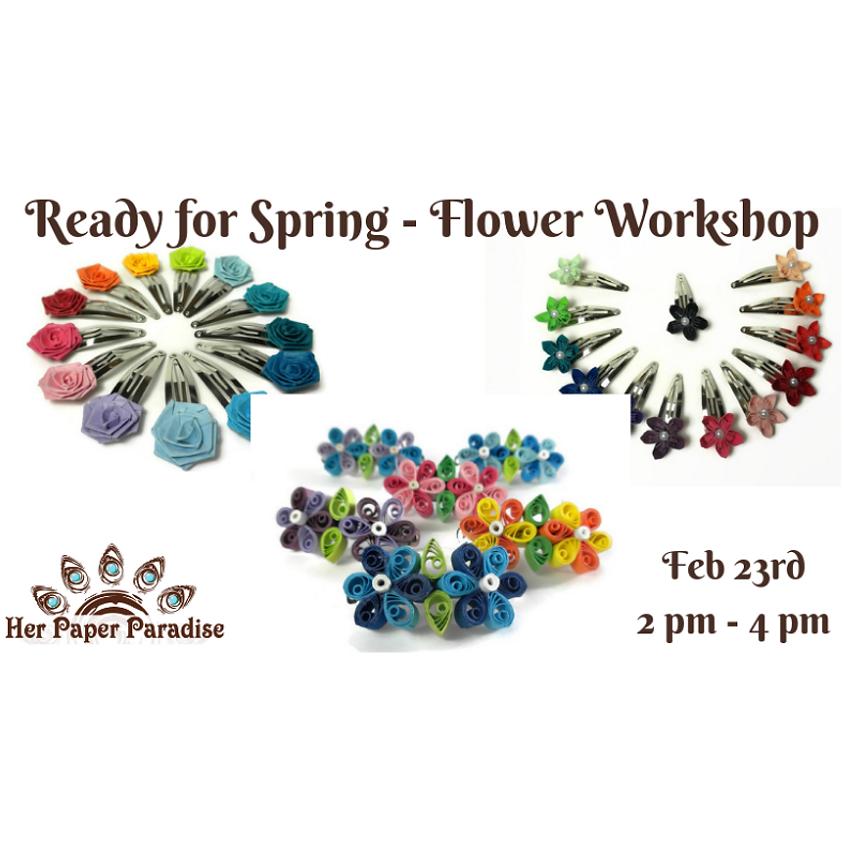 Spring Paper Flower Making HPP