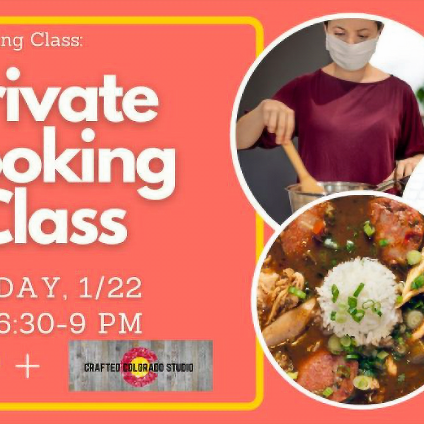 Private cooking class 1/22