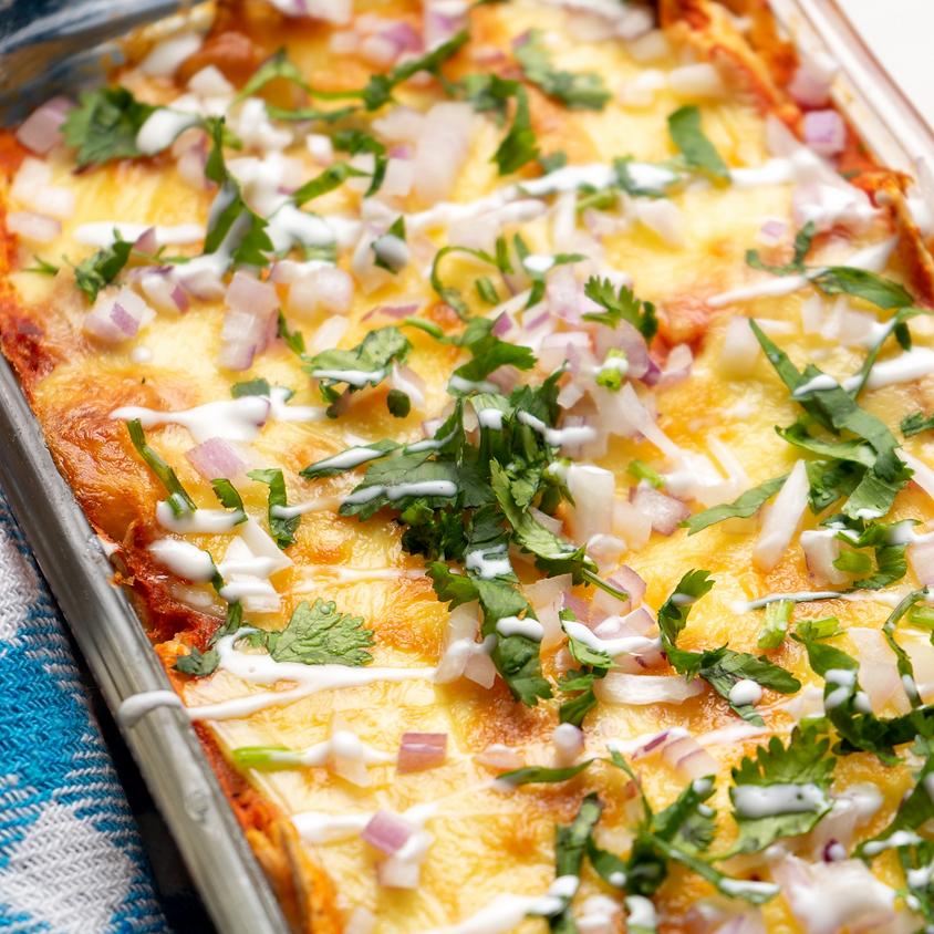 Enchiladas: 2 ways