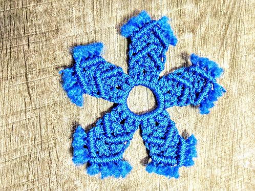 Handmade Macrame Snowflake Ornament