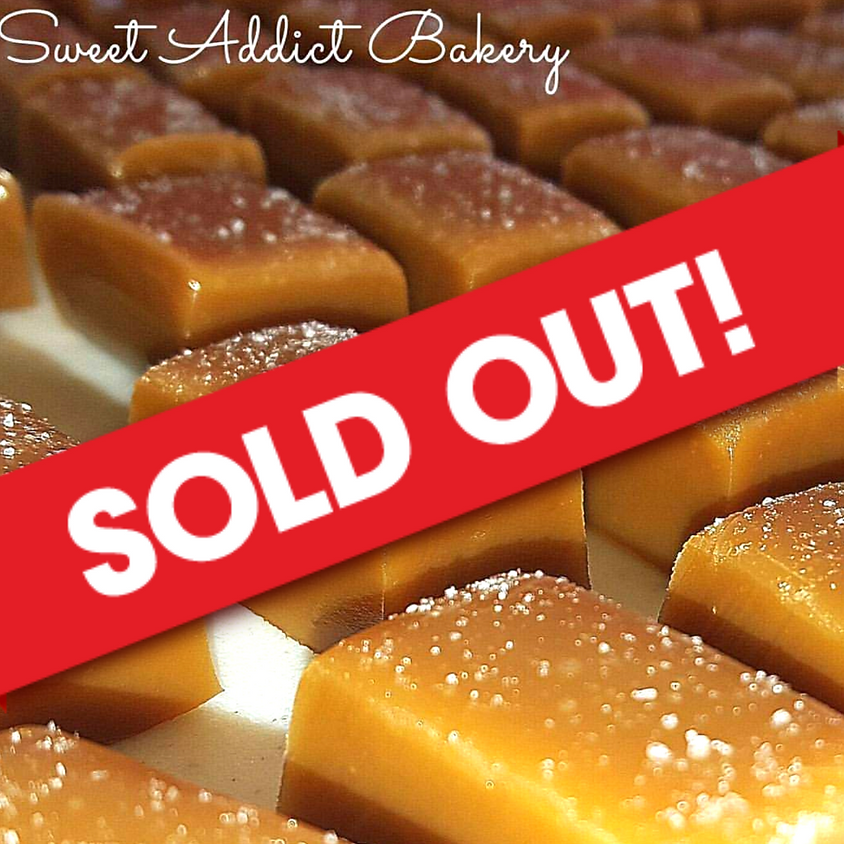 SOLD OUT - Valentine's Caramel Making Class 10-12