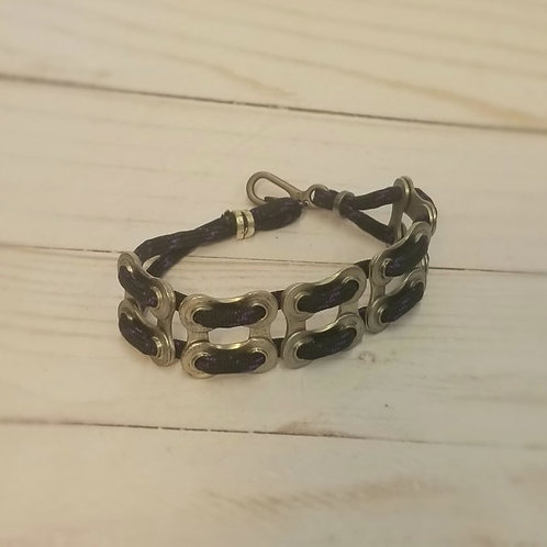 CHAIN LINK BRACELET-double trouble