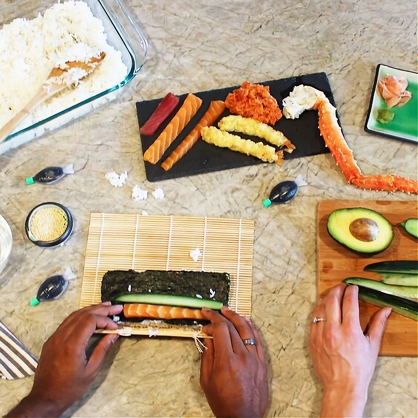 SOLD OUT - Sushi Making Class