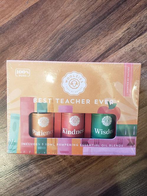 'Best Teacher Ever' Essential Oil Collection