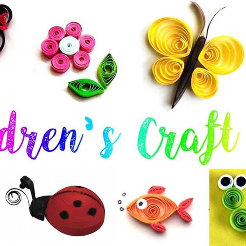 REGISTRATION CLOSED - National Children's Craft Day