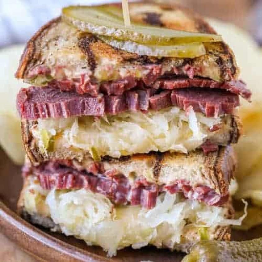 Reuben Sandwich Cooking Class