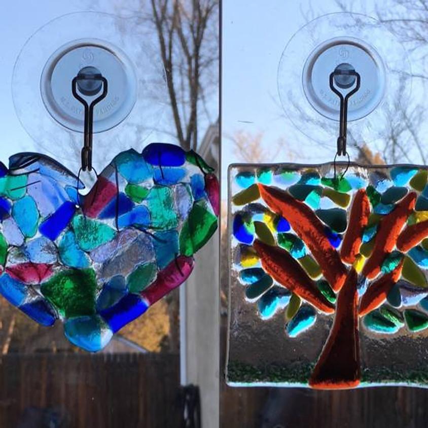 Fused Glass Suncatcher Workshop