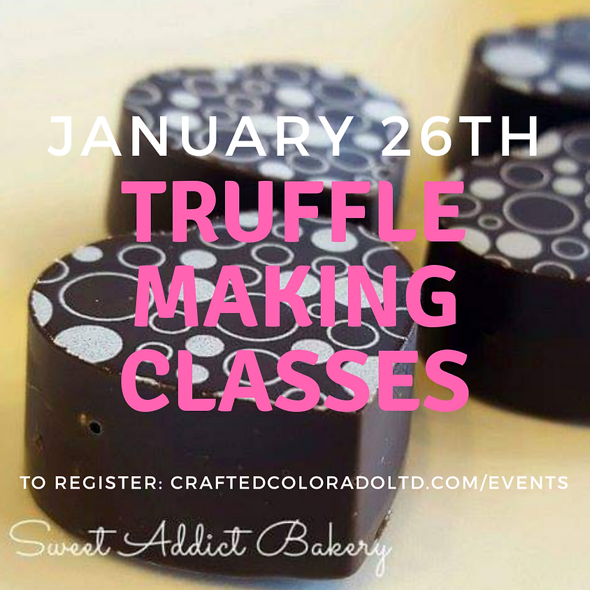 Valentine's Truffle Making Class - 2-4pm