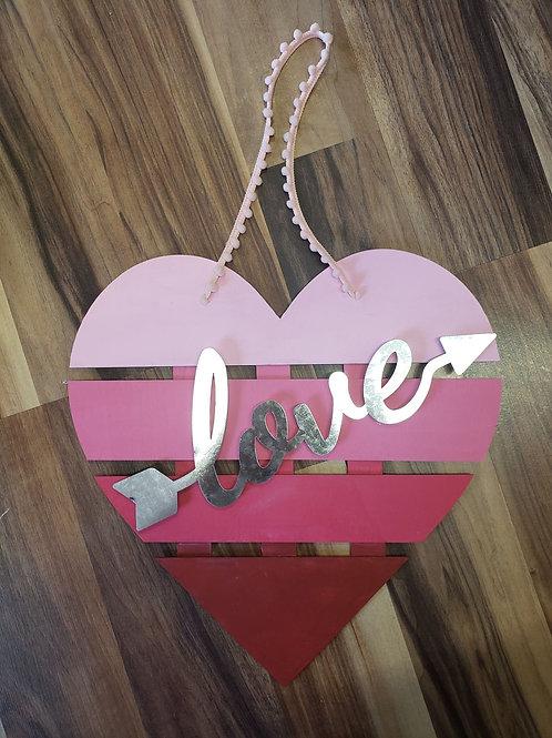 Valentines decor - love pallet sign
