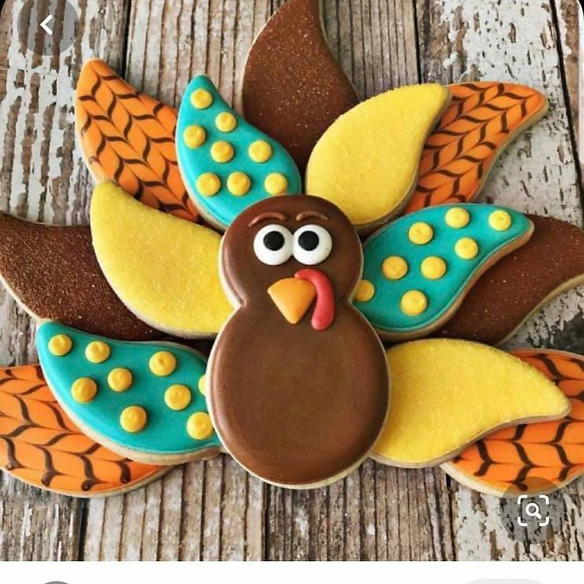 SOLD OUT - Turkey Cookies